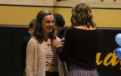 Honor society sets record with induction of 20 members
