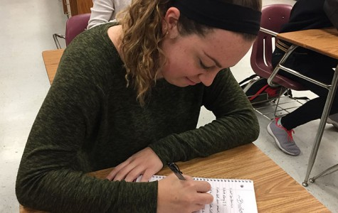 Senior Sarah Graves outlines her bucket list while thinking of the future.