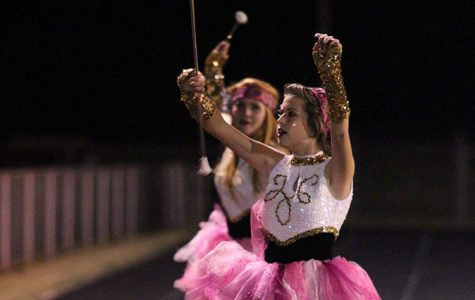 Band, twirlers prepare for state competition