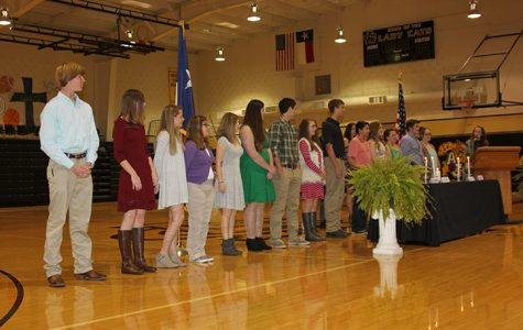 NHS inducts 14 members