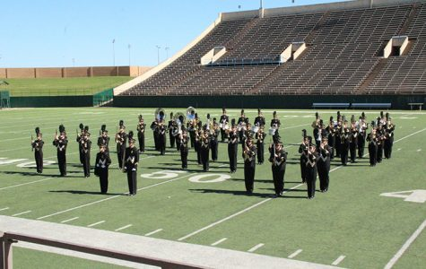 Band switches from marching to concert