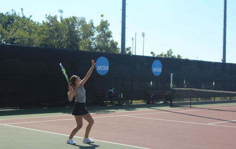 Sophomore competes at state tennis