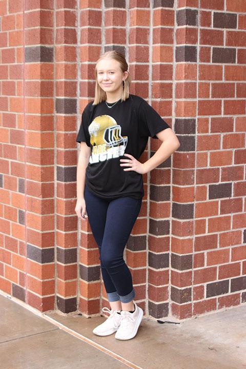 freshman Sara Kyle