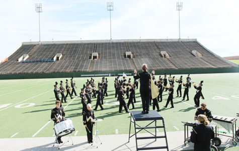 Band competes at region