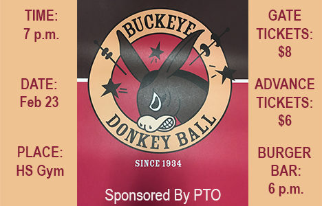 PTO to sponsor  donkey games