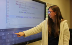 Computer science classes affect senior's future job