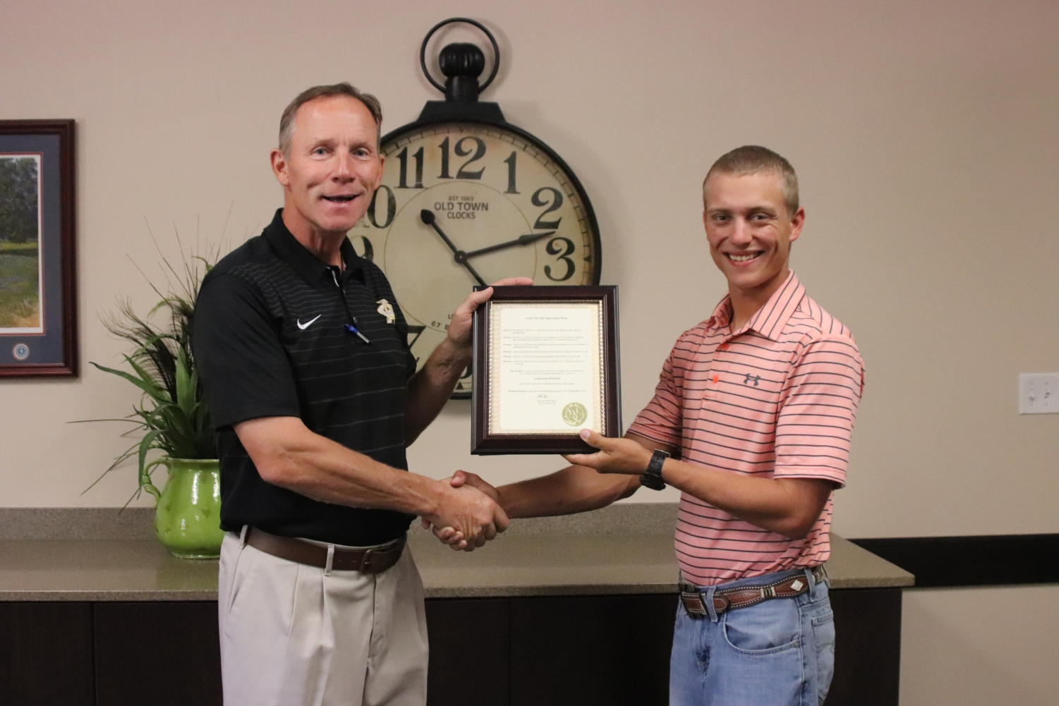 The City has issued a proclamation designating September 9-13 Archer City ISD Appreciation week for the outstanding ratings.