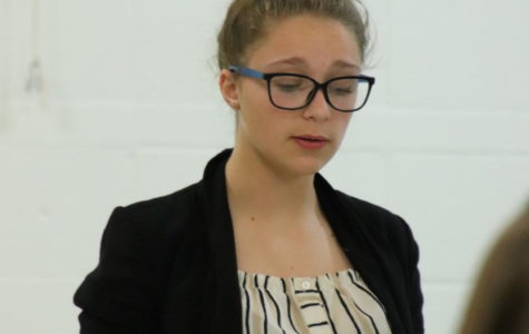Freshman advances to state debate