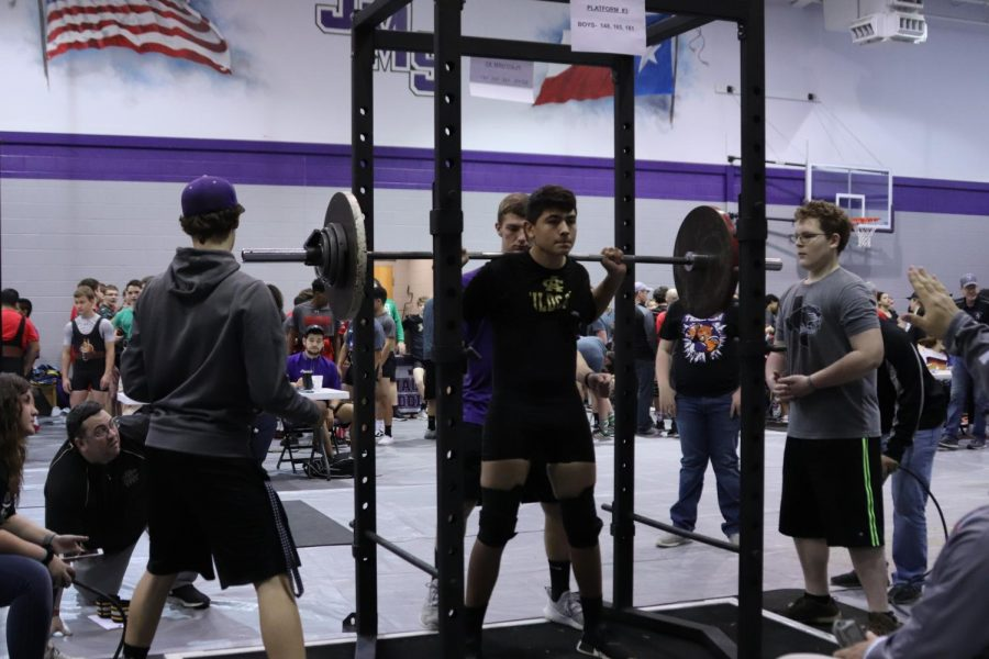Powerlifting meets result  in success for athletes