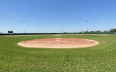 The empty field awaits the uncertain return of the Wildcats.