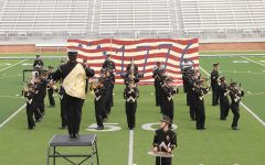 The Prowlin' Growlin' Wildcat Band marches